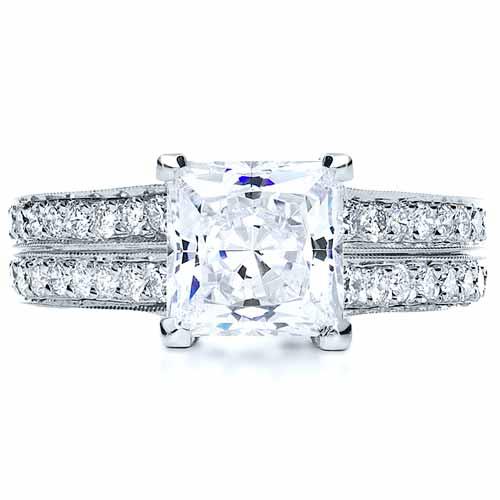 princess cut engagement ring 212
