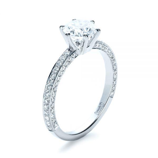 Engagement Ring Broken Prong