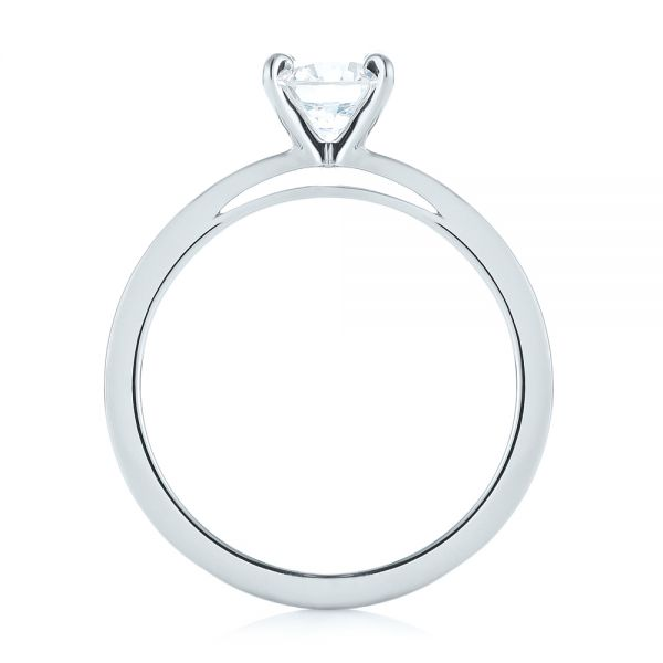 Solitaire Diamond Engagement Ring - Front View -  103421 - Thumbnail