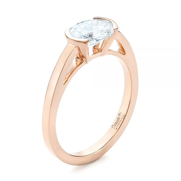 Solitaire Engagement Ring - Image