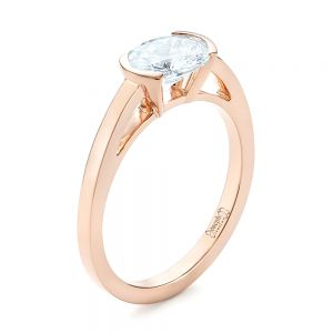 Rose Gold Engagement Rings Joseph Jewelry Bellevue Seattle