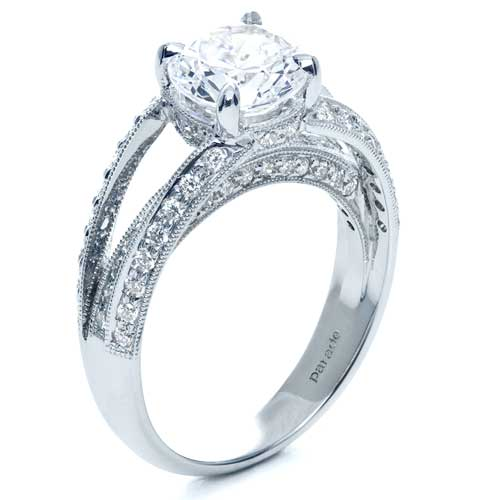 Split Shank Diamond Engagement Ring - Parade