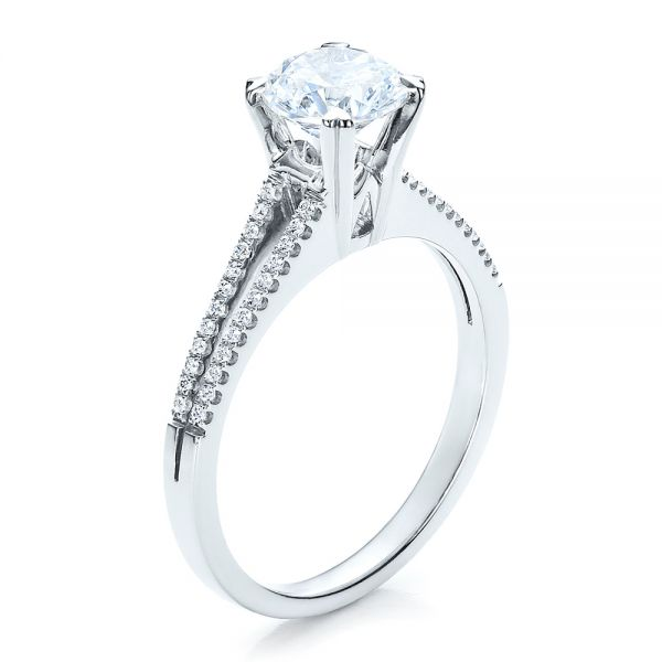 Split Shank Engagement Ring - Vanna K