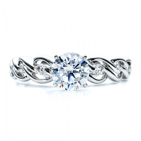 Diamond Engagement Ring - Vanna K