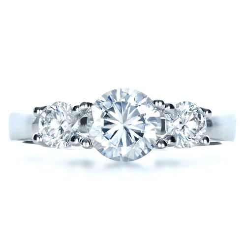 jewelry section engagement rings