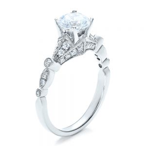 Unique Engagement Ring - Vanna K - Image