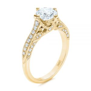 Vintage-inspired Diamond Engagement Ring - Image