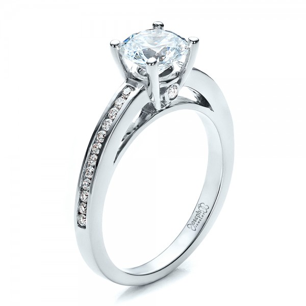 Women's Channel Set Engagement Ring