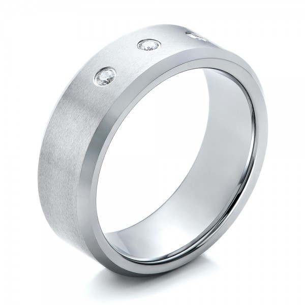 Men's Satin Finish Tungsten Band