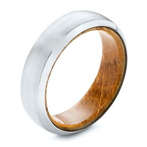 Cobalt Chrome Men's Wedding Ring - Image