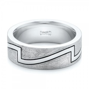 Custom Brushed and Polished Men's Band