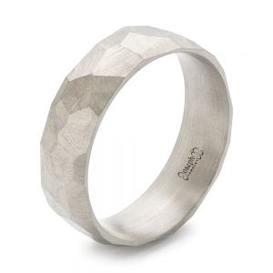 Custom Hammered Men's Band - Image