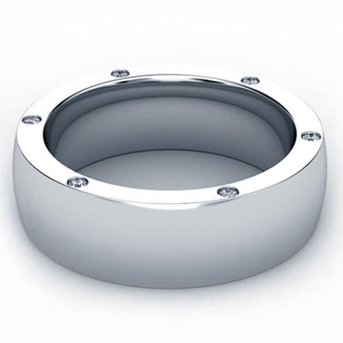 Custom Hidden Diamond Unisex Band