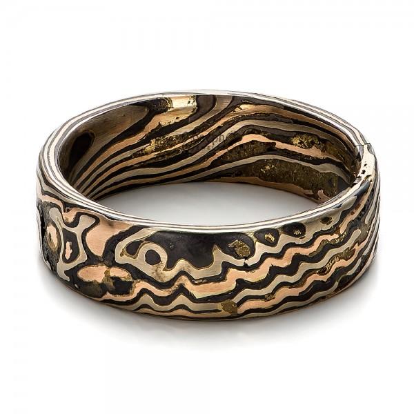 s mokume wedding rings custom made rings