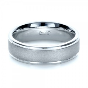 Custom Men's Platinum Band