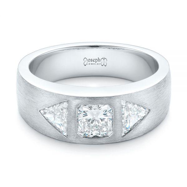 custom mens diamond wedding band - Men Diamond Wedding Ring