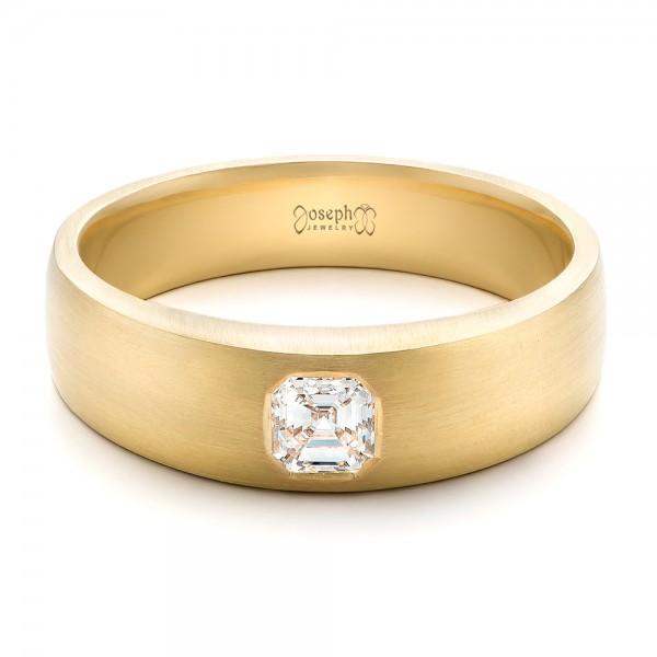 Custom Men 39 S Diamond Wedding Band 102275