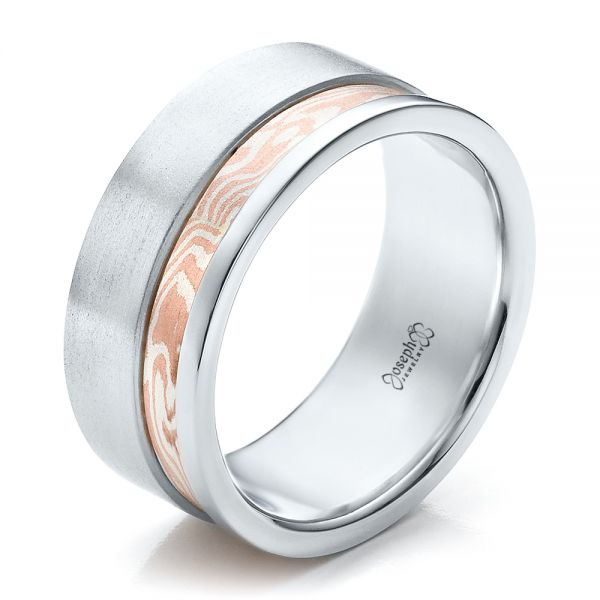 Custom Men's Mokume Band - Image
