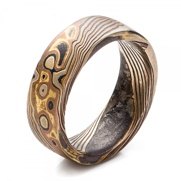 Custom Wedding Bands For Antique Rings