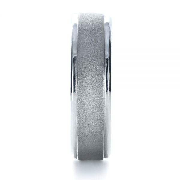 Platinum Custom Mens Band - Side View -