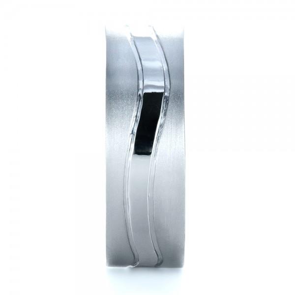 custom mens platinum wedding band - Mens Platinum Wedding Ring