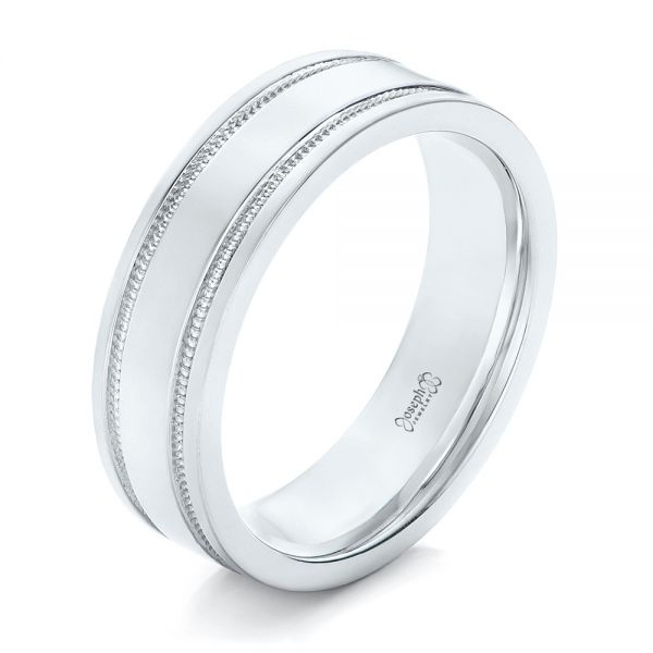 Custom Men's Wedding Band - Image