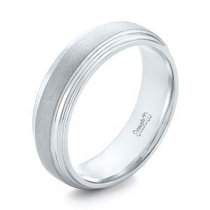 Mens Platinum Wedding Rings Joseph Jewelry Bellevue Seattle