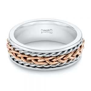 Custom Two-Tone Braided Men's Band