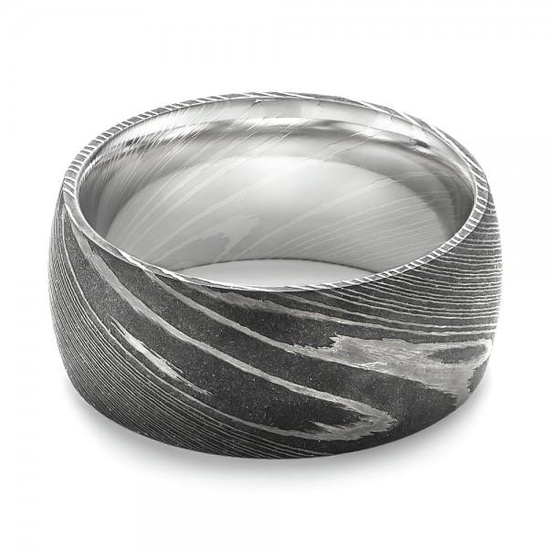 damascus steel men 39 s wedding ring 103119