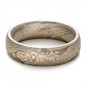 Men's Mokume Band