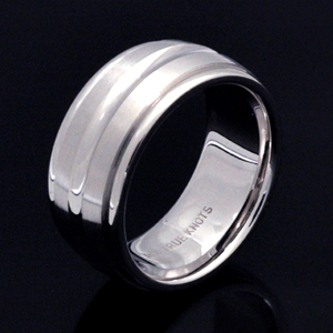 Men's 10mm Wedding Band - 147 - Thumbnail