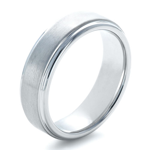 Men's Brushed Tungsten Ring