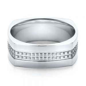 Men's Contemporary Wedding Band