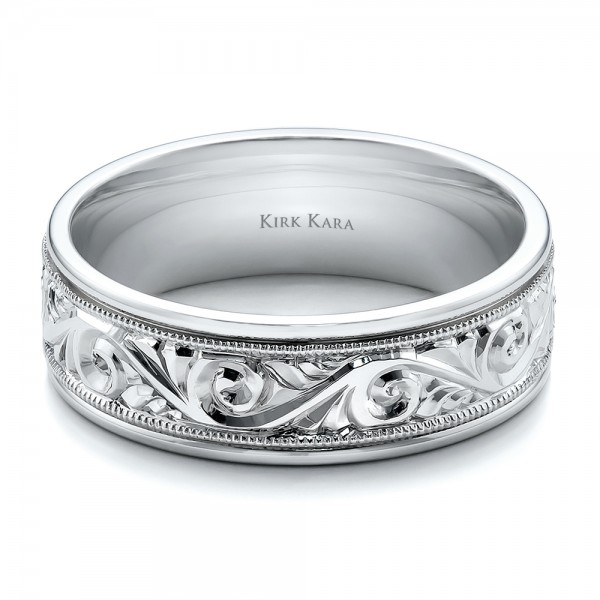 Whats So Trendy About Mens Wedding Rings Engraved That