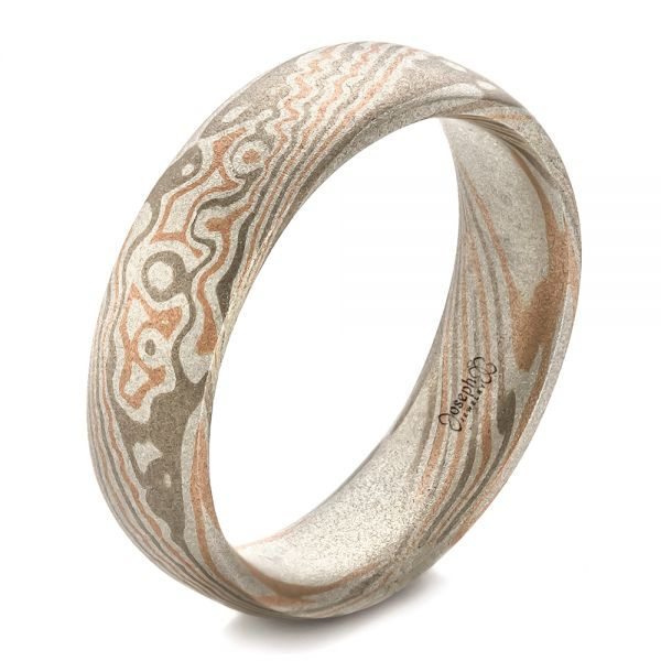 Men's Mokume Band - Image