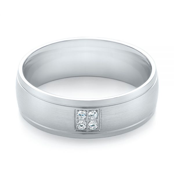 Men's Quad Diamond Wedding Band