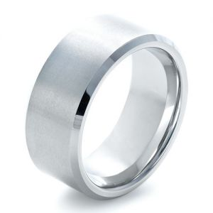 Men's Tungsten Ring - Image