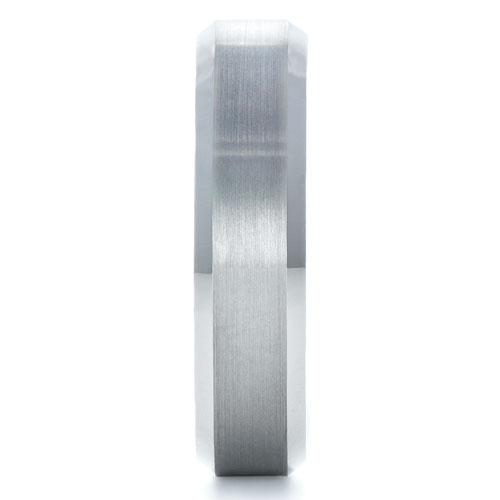 Men's Tungsten Ring - Side View