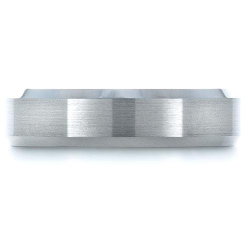 Men's Tungsten Ring - Top View