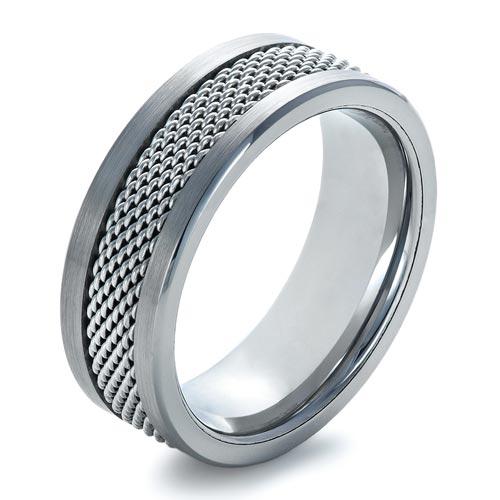 Men's Tungsten & Steel Ring