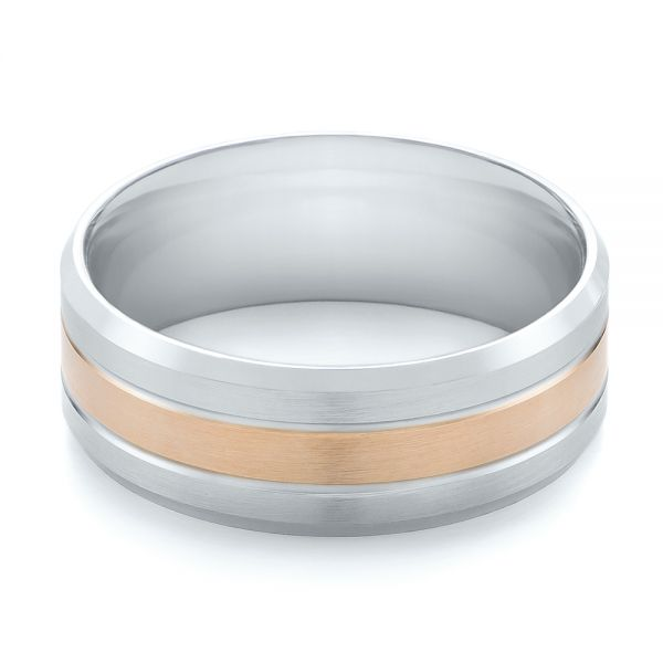 Men's Wedding Ring - Flat View -  103949 - Thumbnail