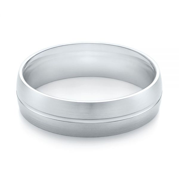 Men's Wedding Ring - Flat View -  103788