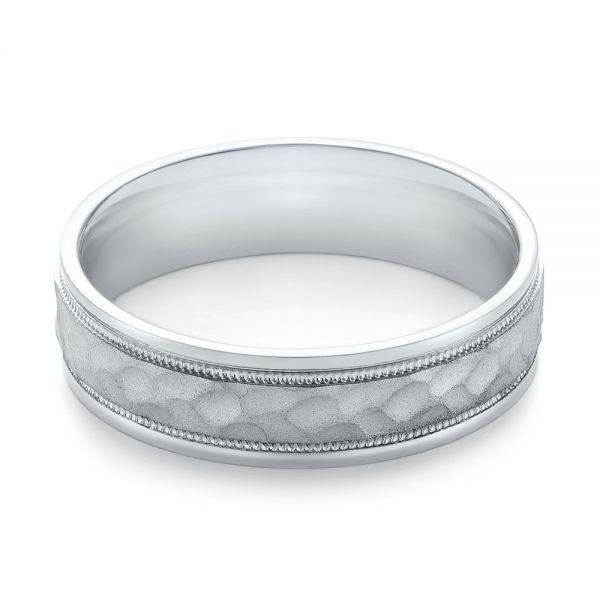 Men's Wedding Ring - Flat View -  103821 - Thumbnail