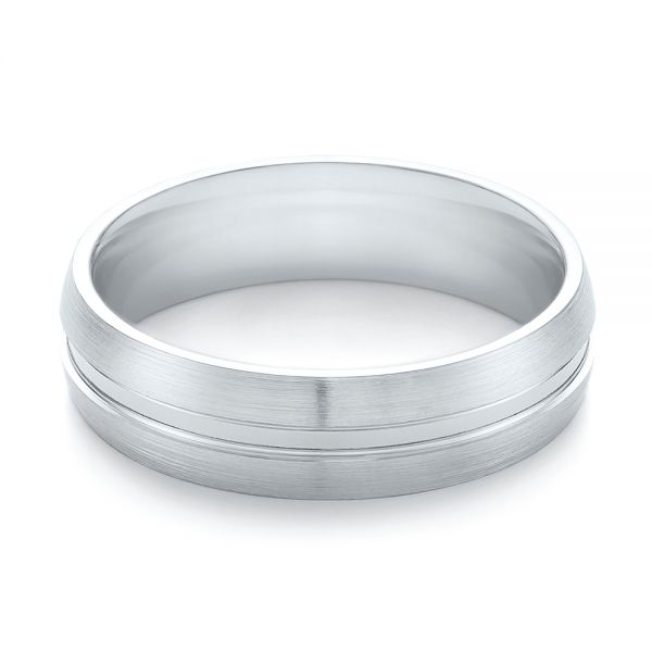 Men's Wedding Ring - Flat View -  103888 - Thumbnail