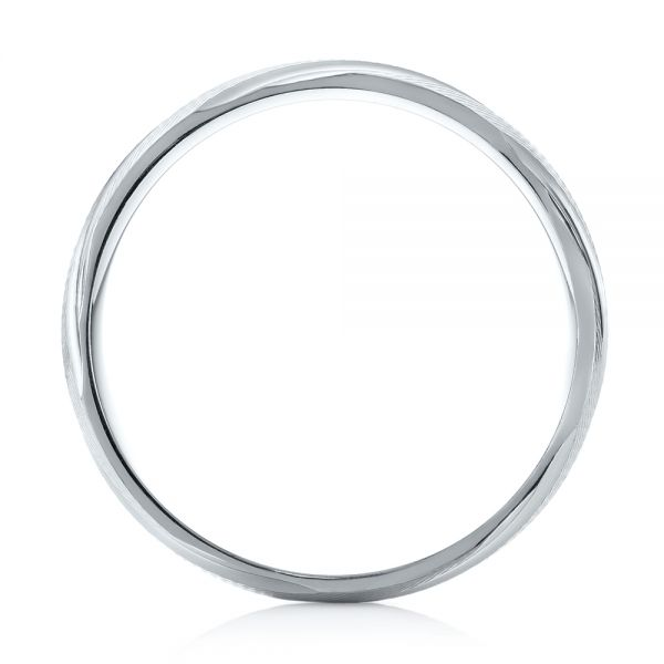 Men's Wedding Ring - Front View -