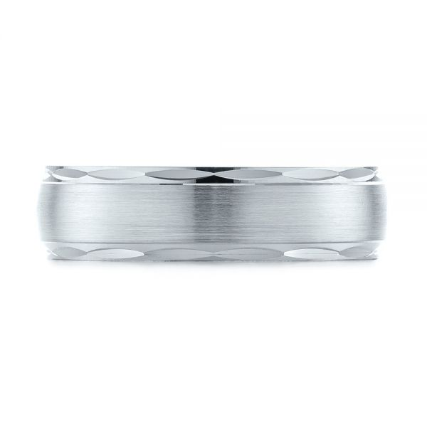Men's Wedding Ring - Top View -  103783