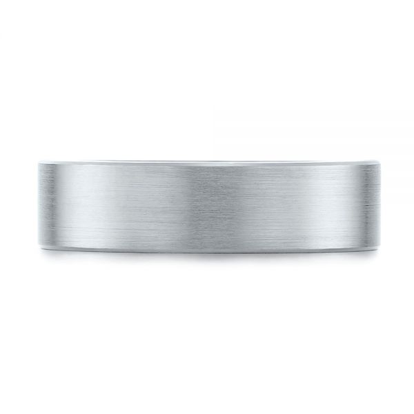 Men's Wedding Ring - Top View -