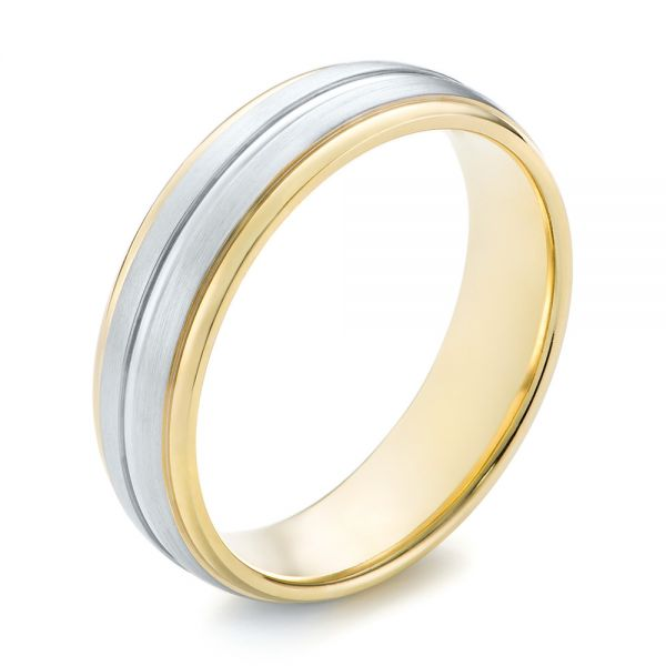 Men's Wedding Ring - Three-Quarter View -