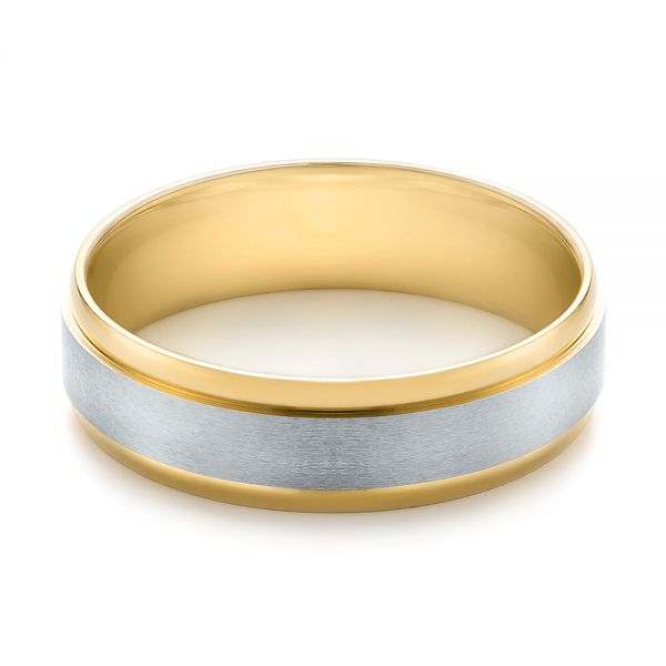 Men's Wedding Ring - Flat View -  103790 - Thumbnail