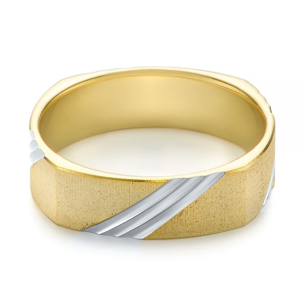 Men's Wedding Ring - Flat View -  103812 - Thumbnail